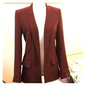 H&M burgundy blazer